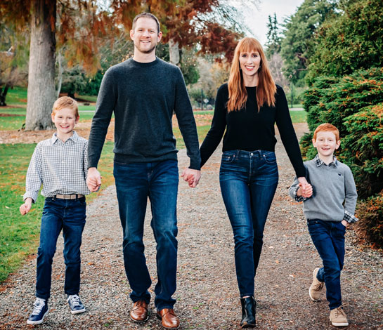 Dr. Ripp Cristel, DDS and His Family